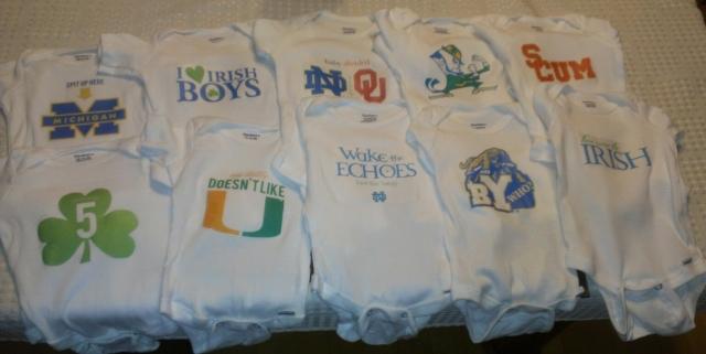 2012 Notre Dame Fighting Irish Gameday Girl Shirts